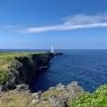 あの白い灯台を求めて「残波岬」でウォーキングをしてきました